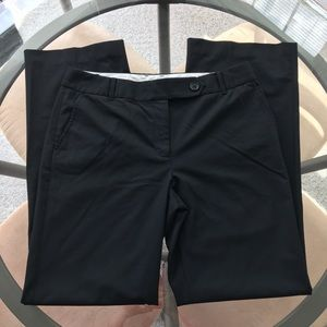 EUC Ann Taylor Loft Ann Cut Black Dress Pants Sz 8